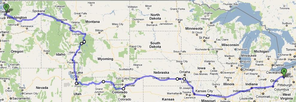 Driving across USA (part 1) – Ciprian Boboc