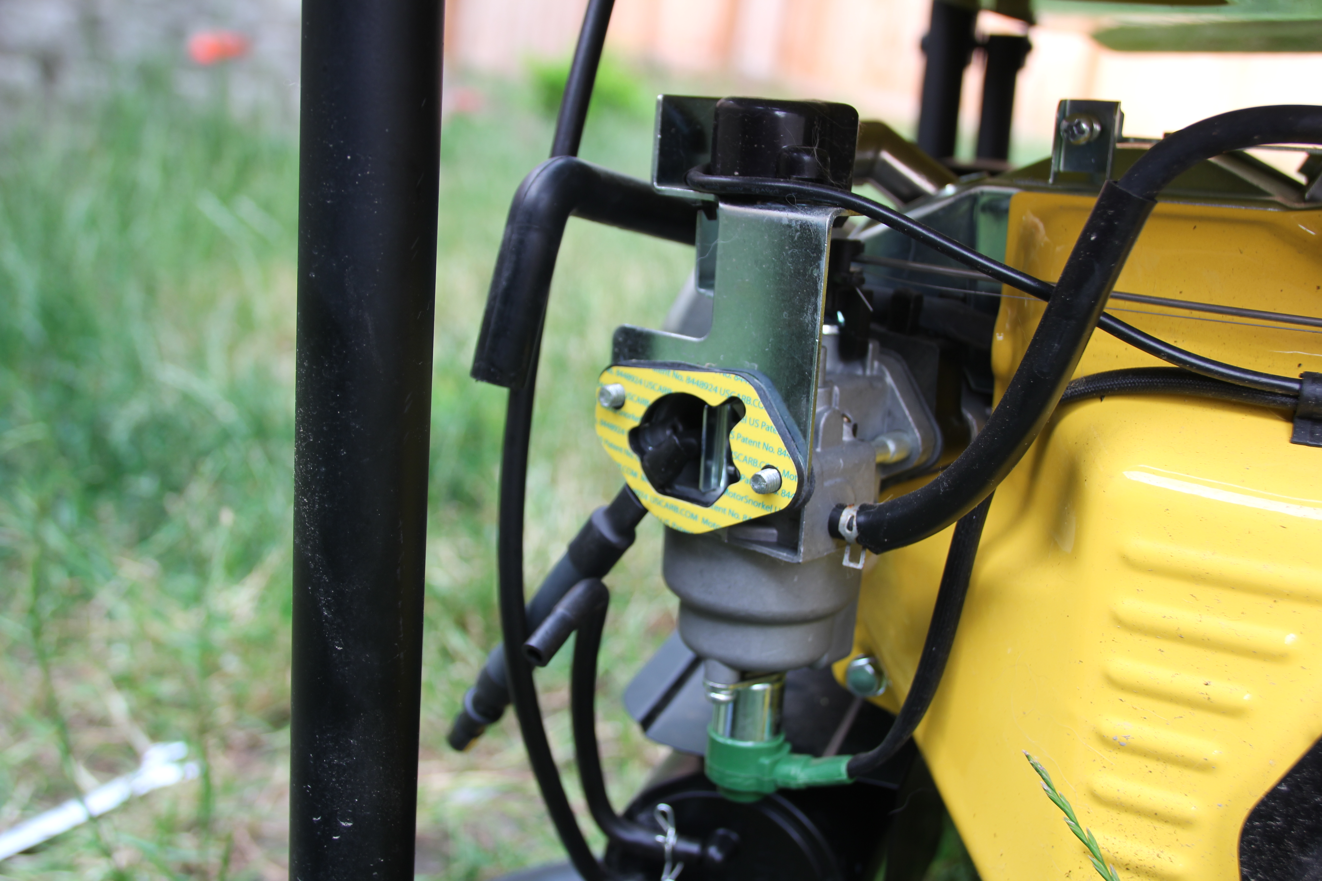 Converting a Champion Generator to run on Propane (or Natural Gas