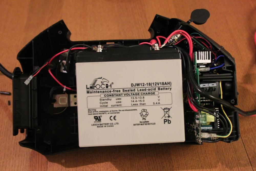 Duracell PowerPack - Internal View