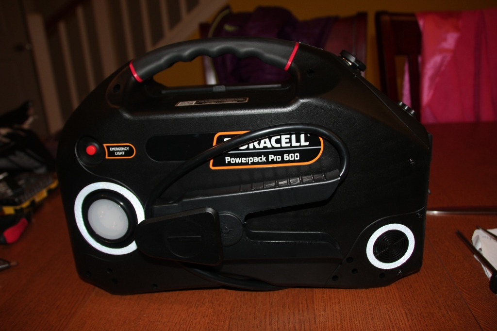 Duracell Powerpack Pro 600